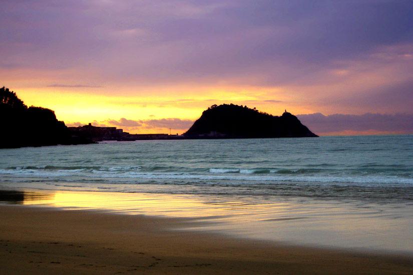 Playas en Getaria